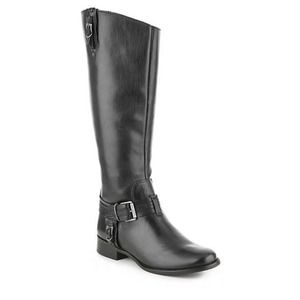 Matisse Flashback Wide Calf Leather Riding Boot